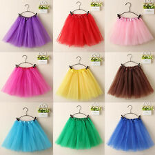 Women Adults Tutu Ballet Skirt 3 Layer Tulle Fairy Party Organza Dancewear Hot