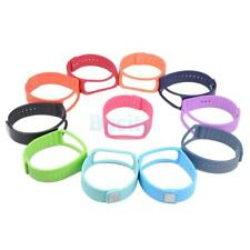 Silicone Smart Wristwatch Long Band Strap With Clasp for Samsung Gear Fit R350