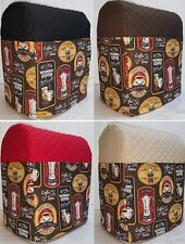 Quilted Morning Coffee Kitchenaid Stand Mixer Cover w/Pockets