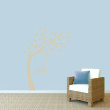 Sweetums Wall Decals Tree with Birds on Swing Wall Decal