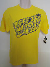 """NIKE Men's Yellow """"THERE IS NO FINISH LINE"""" T Size M,L NWT"""