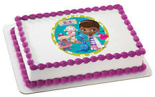 Doc McStuffins Edible Cake OR Cupcake Toppers Decoration