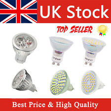 4 8 X GU10 MR16 LED Bulbs SMD Lamp Spot Light High Power Cool Warm White UK
