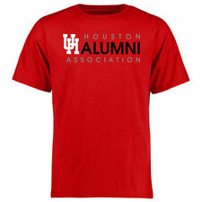 Houston Cougars Wordmark Alumni T-Shirt - Red - College