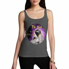 Twisted Envy Women's Sloth Is My Spirit Animal Tank Top