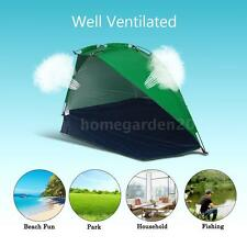 Pop Up Portable Beach Canopy Shade Sun Shelter Outdoor Camping Fishing Tent H8F3
