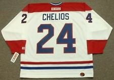 CHRIS CHELIOS Montreal Canadiens 1990 CCM Throwback Home NHL Hockey Jersey