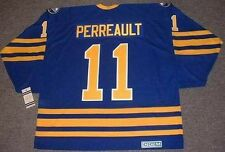 GILBERT PERREAULT Buffalo Sabres 1984 CCM Vintage Away NHL Hockey Jersey