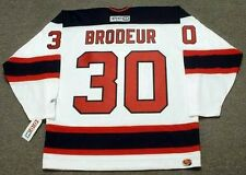 MARTIN BRODEUR New Jersey Devils 2003 CCM Throwback Home NHL Hockey Jersey