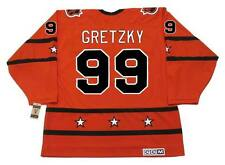 "WAYNE GRETZKY 1980 CCM Vintage Throwback NHL ""All Star"" Hockey Jersey"
