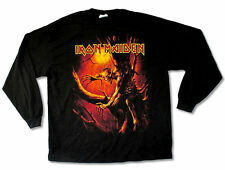 Iron Maiden Shirt Fear of the Dark The Final Frontier World Tour 2010 Licensed