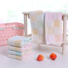 Newly Baby Square Towel Comfy Handkerchief Toddler Cotton Washcloth Saliva Cloth