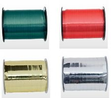 SELF CURLING RIBBON ON A ROLL VARIOUS COLOURS GIFT WRAPPING