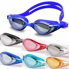 Adult Anti-fog Waterproof Adjustable UV Protection Swimming Goggles Swim Glasses