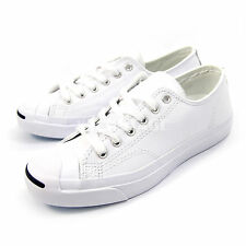Converse Mens Womens Jack Purcell Leather White Classic Shoes Sneakers 1S961
