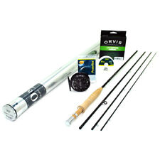"""NEW - Orvis Superfine Carbon Fly Rod Outfit 5wt 9'0"""" - FREE SHIPPING!"""