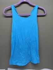 Fabletics Taylor Soft Jersey Fabric, Open, Draped Woven Back tank