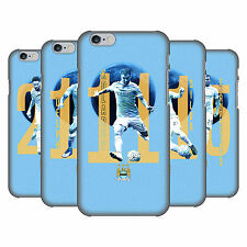 OFFICIAL MANCHESTER CITY MAN CITY FC PLAYERS BACK CASE FOR APPLE iPHONE PHONES