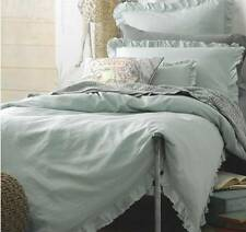 Single/Double/Queen/King Shabby Green Cotton Doona/Duvet/Quilt Cover Set Chic