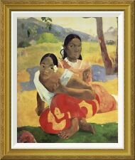 Global Gallery 'When Will You Marry' by Paul Gauguin Framed Painting Print