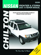 Nissan Frontier and Xterra 2005 - 2014 Chilton Repair Manual 52320