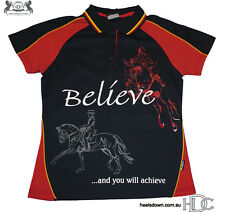 ***HEELS DOWN CLOTHING***LADIES BELIEVE POLO..YOU CHOOSE COLOUR!!