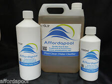 Water Sparkle For Pools, Spas & Hot Tubs. Helps clear cloudy water.