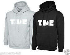 Mens TDE Hoodies Top KENDRICK LAMAR Hooded Sweatshirt Top Dawg Entertainment
