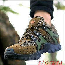Men Casual Breathable Mesh climbing shoes Antislip Walking Shoes Athletics Size