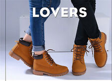 New fashion Lovers Marten Boots Lace-Up Unisex Spring/Winter 2 model 5 colors
