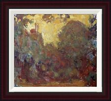 Global Gallery La Maison de Giverny by Claude Monet Framed Painting Print