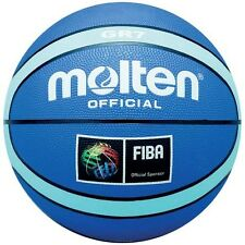 Molten BGR Official Basketball FIBA Approved Rubber Cover Nylon Basketballs