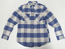 Polo Ralph Lauren Denim & Supply Logo Mens Blue Slim Button Down Vintage Shirt
