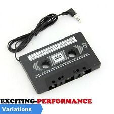 3.5mm JACK AUX CAR AUDIO TAPE CASSETTE ADAPTER IPOD NANO MP3 CD MD RADIO