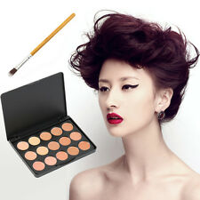 Pro 10/15 Colors Camouflage Concealer Palette Eye Face Cosmetic Makeup Cream