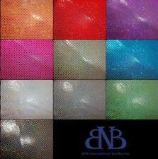 """HOLO DOT SPANDEX 20% NYLON 80% SPANDEX 57/58"""" Wide SOLD BY THE YARD"""