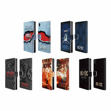OFFICIAL AC/DC ACDC ALBUM ART LEATHER BOOK WALLET CASE COVER FOR SONY PHONES 1