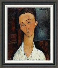 Global Gallery 'Lunia Czechowska' by Amedeo Modigliani Framed Painting Print
