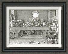 Global Gallery 'The Last Supper' by Albrecht Durer Framed Painting Print