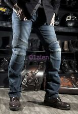 Mens Denim Slim Straight Motorcycle Casual Jeans Pant Fashion Trouser Cowboy Hot