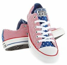 CONVERSE Unisex Converse Chuck Taylor Stars And Bars Ox Casual Shoes 144829