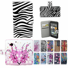 Phone Accessories Leather Wallet Flip Skin Case Cover Stand for HTC One M7 801s