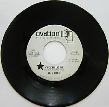 OKIE DUKE: Chicken Lickin' / Ain't No Color To Soul - Ovation Soul Funk DJ 45 M-
