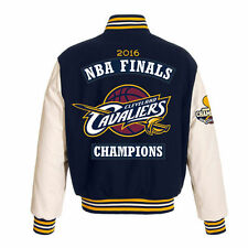 Cleveland Cavaliers JH Design Navy 2016 NBA Finals Champions Wool & Leather Jack