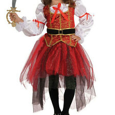 Children Girls Pirate Fairy Halloween Party Fancy Dress Kids Costume Outfit Cute