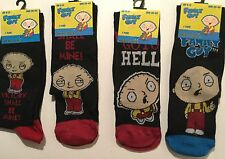 Mens socks with Family Guy Stewie detail size 6-11m