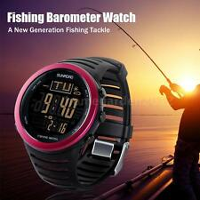 Sunroad Digital Fishing Watch Barometer Altimeter Thermometer Weather NEW U3I2