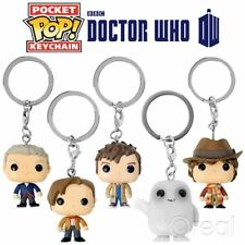 New Doctor Who 4th 10th 11th 12th Or Adipose Pocket Pop Keyring Figures Official