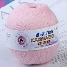 1 Skein Ball Soft Durable Cashmere Wool Yarn Knitting Weaving Yarn 437yard 400m