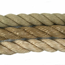 24mm Synthetic Decking Rope,Decking,Garden, Polyhemp, Sisal Rope, Manila Rope